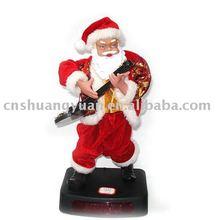 promoting xmas santa claus/christmas bauble