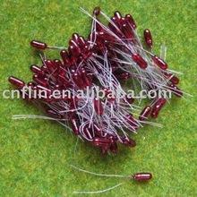 Grain of Wheat 3mm Red Miniature/mini Bulb