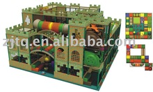 intresting and fancy indoor castle playground