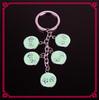 Hot selling fashion custom key chain alloy keychain,promotion keychain