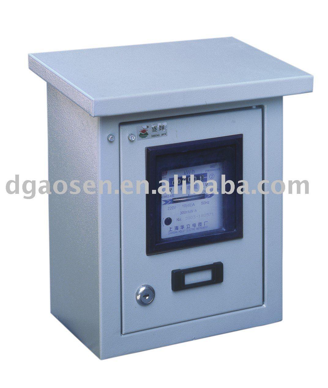 Outdoor Electricity Meter : Outdoor electric meter box view aosheng