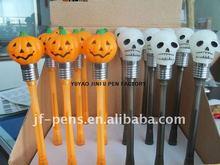 Halloween plastic light and music pen