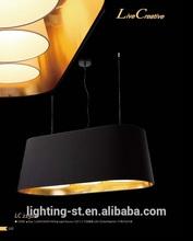 105cm black out side gold inside fabric pendant chandeliers pendant lamp LC21921