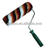 Wall paint roller - Three Color Strip Roller