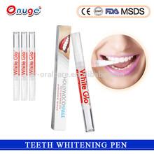 2ml Plastic Popular non peroxide Tooth Whitening Pen for home whitening