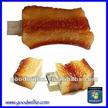 Innovative products Bacon Bulk Cheap Usb Flash Drive for Promotional Gift