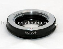 Adapter ring with glass For Minolta MD lens to Canon EOS Body