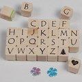 sello de goma del alfabeto