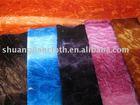 Bushed & crushed woven velvet,velour fabric