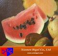 frutas pintado à mão pintura em tela