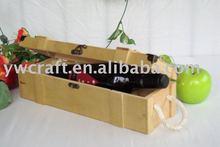 Original wine box(nature colour) hot selling 2012