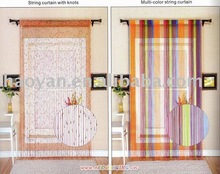 string polyester curtain wholesale