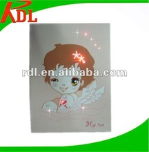 2012 New Arrival Fashion Design Music Greeting Card with Colorful LED Flash