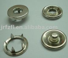 cap prong ring snap button