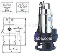 sewage submersible underwater pump (CMA, CMB series)