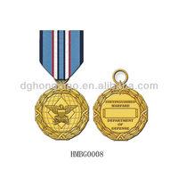 metal golden medal metal badge