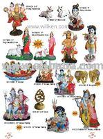 Resin Indian God & Goddesses, Murti Items, Religious Statues