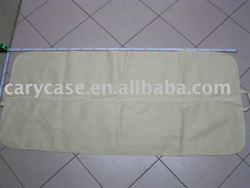 long foldable non woven wedding dress cover , bridal garment bag
