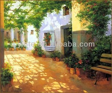 landscape oil painting oil painting china