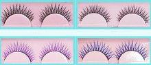 false colorful eyelashes