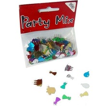 Christmas Decoration Party Confetti -Birthday Cake,Gift Box and Cone