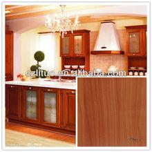 woodgrain matt rigid pvc decorative film for furniture
