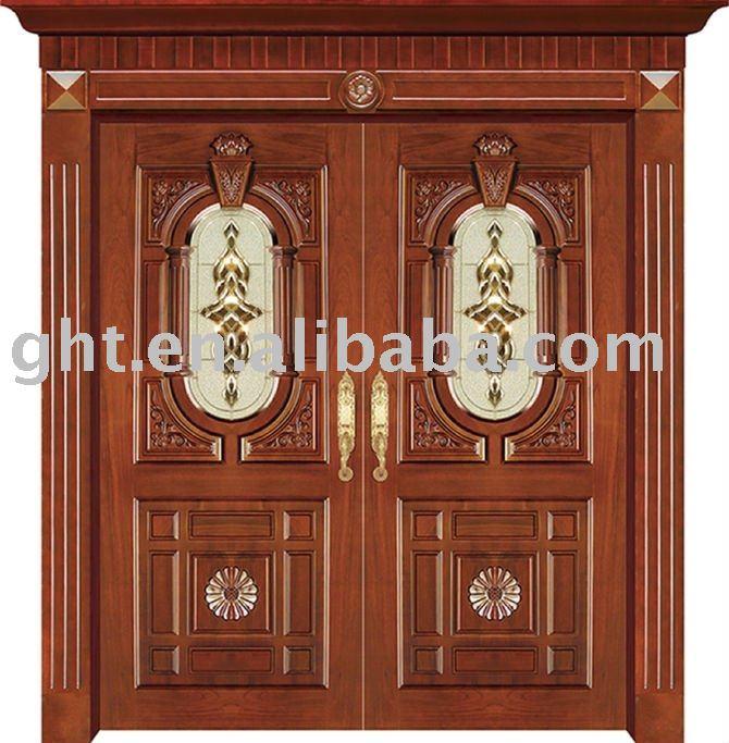 Kerala Style Wooden Front Door- Double Door- Designs ~ BAVAS WOOD
