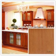 wood grain matte decorative pvc deco sheet for funture and doors