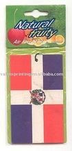 Long lasting fragrance paper air freshener