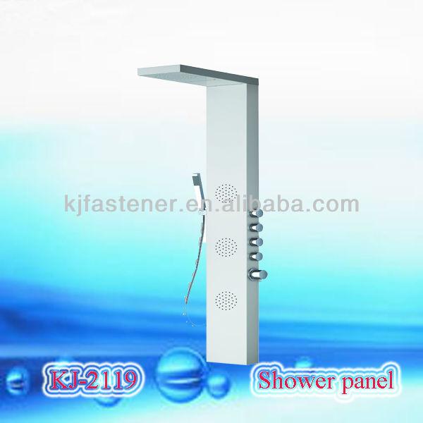 En acierinoxydable panneau de douche panneaux muraux de douche en acrylique - Panneaux de douche en acrylique ...
