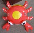 Caranguejo inflável/ brinquedo animal/ decoração/ partido item