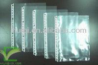 26 holes B5 inside pockets Clear sheet protector