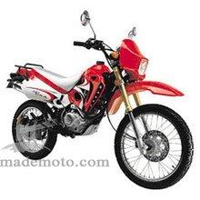 Gas-Powered 200CC Dirt Bike with Spoke Wheel Rim DB2002