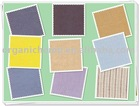 IMO certified 100% Organic Cotton Stripe Fabric for Garments and Clothing