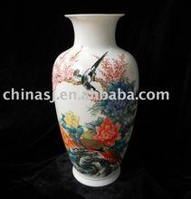 Porcelain Flower Vase Hand Painted WRYHI04
