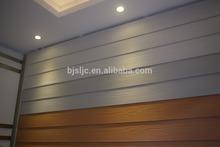 waterproof fiber cement External siding board /wood grain wall panel