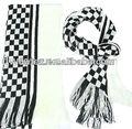 patchwork de punto de algodón bufanda bufanda