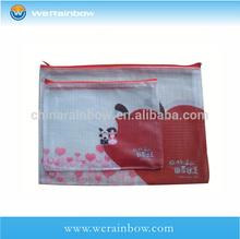 PVC PENCIL pouch with zipper