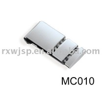 New Stainless Steel Spring Loaded Cable Money Clip
