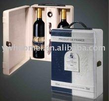 PU/PVC/leather wine case