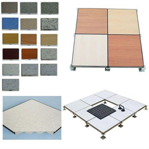 Raised Wood Flooring For Computer Rooms : Steel panel antistatic hpl raised floor access