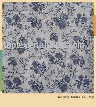100% cotton printed dress fabric
