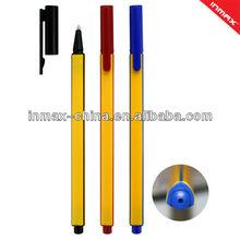 Triangle barrel stick ball pen