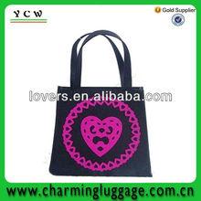 felt fashion bag/wool felt fabric bags