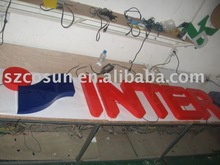 Used acrylic sign letter, acrylic used sign letter cutting, craft used sign letter