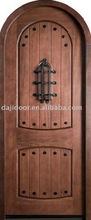 Arched Carved Wooden Antique Door DJ-S142