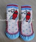 Children Lovely Leather Sole Floor sock