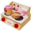 2014 Most Popular Wooden Kitchen Sets Toy for Developing Children Imagination