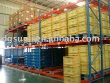 ISO warehouse self management storage freezing gravity racking