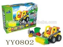 plastic DIY block toy